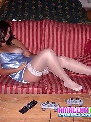 Have fun examining explicit amateur voyeur photos of all very sex appeal girls next door