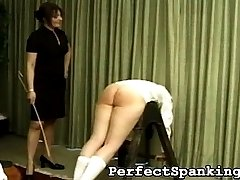 One of Britains toughest Mistresses is incredibly angry at two of her school girls. They were...