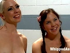 18 year old Kiki Koi makes her lesbian porn debut right here on WhippedAss.com! When candy...