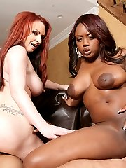 Amateur swinger MMF threesome images