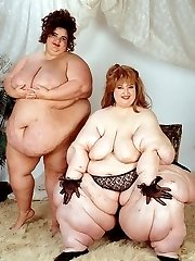 Big Beautiful Fat Bitch Posing in Black Panty