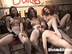 For the first time ever this fierce threesome joins the Divine Bitches and tears femdom a new...