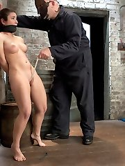 Welcome back Sgt Major and welcome Serena Blair! First up Sgt man handles this slut who looks...