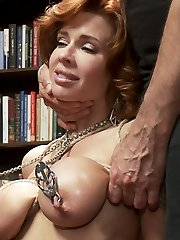 Nymphomanic MILF Veronica Avluv is trained to be a domestic cock service slut