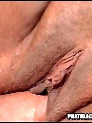 beautiful black BBW gets her fat pussy slammed
