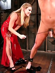 Mistress Harmony Rose takes down the big man in this amazing update. Christian has never been...