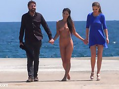 Part 1 - The Filthy Fully Naked Street Pet.Alexa Tomas is a perfect, perky, gorgeous, Spanish,...