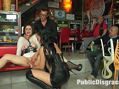 Longtime PD Fan and public whore Lucia Love is greedy to be used on Public Disgrace!!! Fetish...