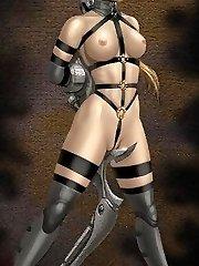 lesbian manga porn bondage