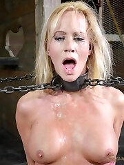 Simone Sonay is a Milf, there is no doubt about it. It isn't just her smoking body, tho'; her attitude is just as super-sexy. She has an out of manage intercourse drive, an insatiable thirst for cock. We cram as much manhood as she can handle down her throat. One after the other we pound her face hole, vibrating her pussy so that she is panting and groaning through the meat in her hatch.