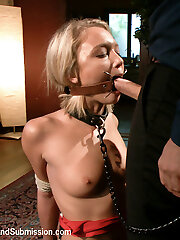 Dakota Skye is made into an subordinated anal slave when she gets picked up off the street by a powerful and perverted dude, Tommy Pistol.  Innocent looking and petite, Dakota gets put through her paces in some intense rough sex and bondage positions.