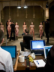 Free-for-all PREVIEW : WMV | WMV HD |MP4 HD |iPodThis is a previously recorded event from the Training of O archives published here as a bonus!Palace owner, Peter Acworth, is highly annoyed that the training of Upper Floor slaves is taking so lengthy. Worried that the victims will not be prepared for a Cocktail Soiree tentatively planned for next month, Peter has asked Lead Trainer, James Mogul, to screen a few local applicants and host a total-scale sub audition in the Armory's basement that he will personally oversee. Among the applicants is Satine Pheonix, who disgracefully collapsed from sugar deprivation at The First Supper inaugural event. Those who make it through the casting will enter a grueling instructing program with hopes of eventually petitioning the House for a stance among the Upper Floor slave ranks.   Join Peter, James, handler Maestro and freshly initiated Upper Floor slave Cherry Ripped to help test these applicants and decide who is worthy of being trained.
