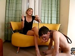 Mistress Aleksandra is in love with her newest Slave!