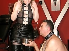 Humiliated Dog Slave