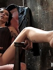 Simone Kross has seen it all and she is not amused by this particular slaveboy at all. He tries...