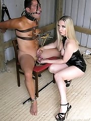 Sidonias Chained 247 Slave Pt3 - 36hrs Non-Stop in Metal Bondage