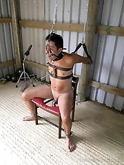 Sidonias Chained 247 Gimp Pt3 - 36hrs Non-Stop in Metal Restrain Bondage