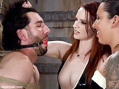 Mistress Claire has a new apprentice for the day. Fiona is new to MIP, but she is mean and horny...