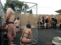 A Weekend at The English Mansion - Pt1 Slave Picking