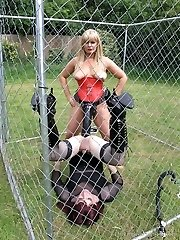 Caged Monster Strapon