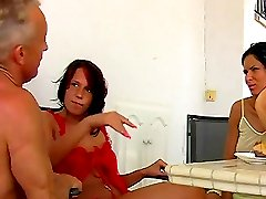 Trampling & slapping femdom with Jenny