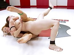 Winner of this match will take on Savanna Fox for the light weight title. This shoot was filmed live! This is 100% real competitive erotic wrestling. Winner Destroys the idiot and extremely humiliates her in the reward round with Pony Play, Muscle Idolize, foot Worship, Abdomen Punching and Lift and Carries.