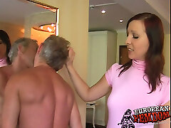 Spit slave gets educated by Damsel Ashley
