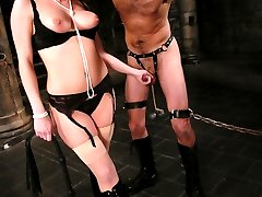 Mistress Harmony has a kept pet that she takes out to play with when she is feeling mean and...