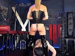 Youthfull Dommes Sex Slave