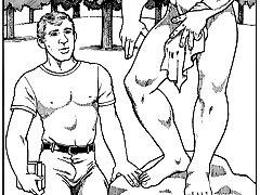 gay cartoons