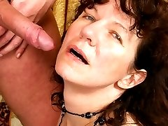 Mature babe Hana has a full bush of pussy fur you would swear it has not seen a razor in 10 years!