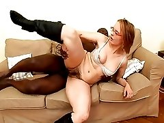 Interracial Hair Pie Fuck with Mature Magda