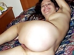 Hippie girl with hairy pits and pussy fucking and sucking
