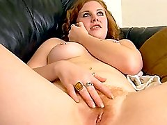 Hot blonde with hairy cunt enjoy hard pounding