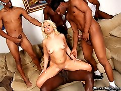 BLACKS ON BLONDES!