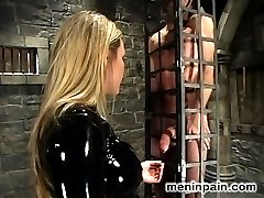 The stunning Mistress Harmony Rose is a tiger in latex ? ravaging Her willing slave until She...
