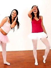Ballerina teenie lesbians