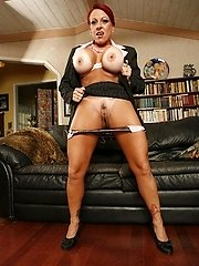 MILF Whitney Wonders entices a younger dude with her nice tan going for an awesome fuck
