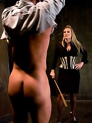 Domme Harmony Rose instructs pretty boy a lesson in humility