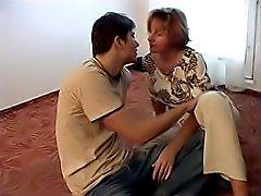 Porn movie and friends mom