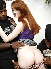 Abbey Rain Black Cock Slut at Blacks On Blondes!