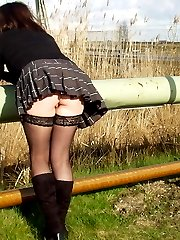 amateur stockings nylons video