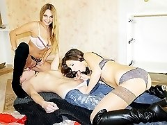 Hot pickup porn with dominas on young guy
