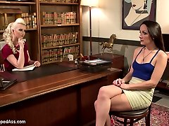 Marley Blaze wants to make a naughty video for her husband. She goes to an agency that helps...
