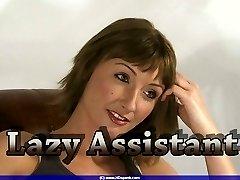 Lazy Jennys OTK spanking