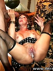 MILF Drenched in CUM