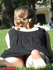 Voyeur girls upskirt views