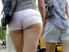 Blonde girls upskirt is so exciting