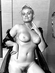 Big-chested and from the sixties