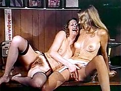 Retro hairy secretaries sex